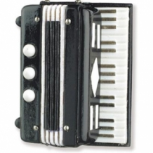 Magneet Accordeon muziekcadeau
