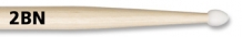 Vic Firth 2BN Drumstokken nylon tip