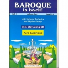 Baroque is Back Altsaxofoon 1
