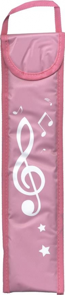 Blokfluithoes Musicwear rose