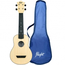 Flight TUS35 ABS Travel Ukulele Natural