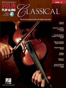 Classical Violin Play-Along Volume 3