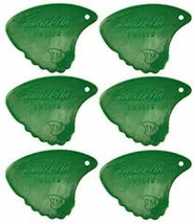 Sharkfin Plectrum Relief groen